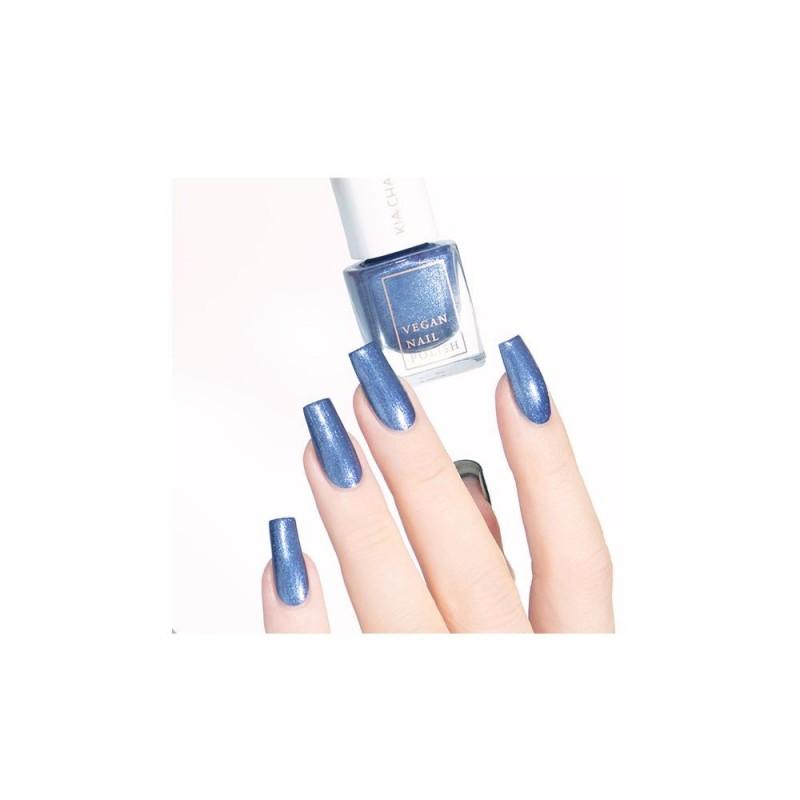 WINTER WONDERLAND - metaliczny szafirowy niebieski